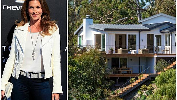 Синди Крауфорд продава къщата си с частен плаж към нея