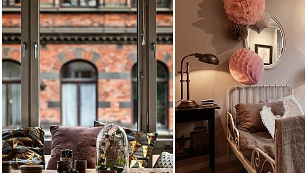 Бохемски интериор с шведски дизайн