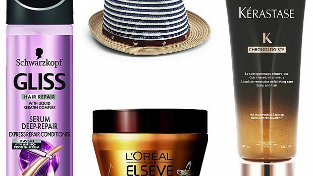 8 продукта, с които косата ви ще обича слънцето