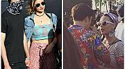Неловко! Миранда Кер и Орландо Блум купонясваха на Coachella с новите си гаджета