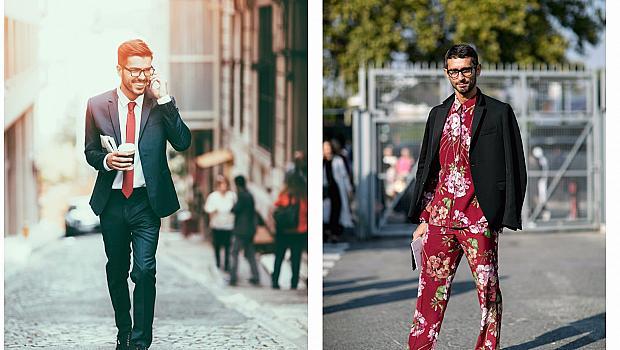 Мъжкият костюм - облекло за работа или фешън сет за разбирачи?