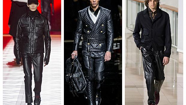 Мъже, върнете обратно в гардероба кожените панталони