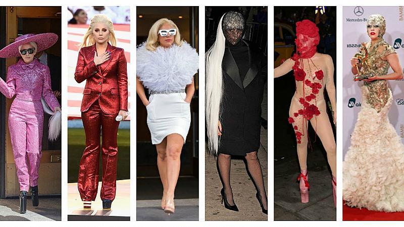 30 от най-впечатляващите визии на Лейди Гага
