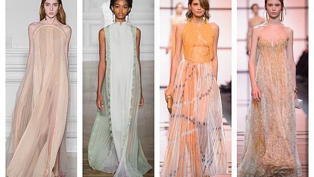 Висша мода пролет 2017: Феерия и нежни цветове от Armani Privé и Valentino