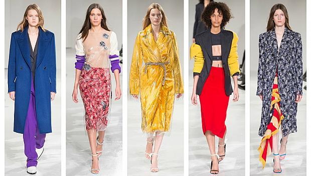 Ню Йорк: Calvin Klein опита да разчупи скучноватия си стил