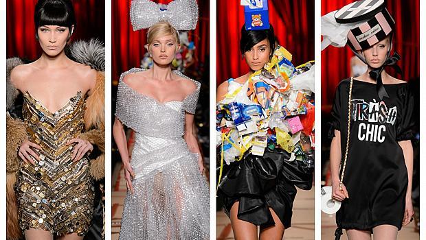 Moschino превърна боклуците в модни шедьоври