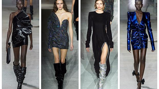 Saint Laurent даде старт на модните ревюта в Париж