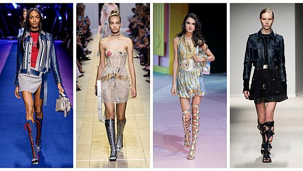 Топ тренд: Високи ботуши и римски сандали за лято 2017
