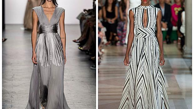 Изчистени линии и изящни рокли от Carolina Herrera и Dennis Basso