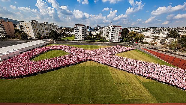 Кампания на Estee Lauder срещу рака на гърдата