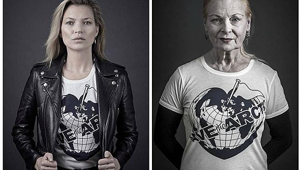 """Кейт Мос и други звезди се присъединиха към проекта на Вивиан Уестууд """"Спасете Арктика"""""""