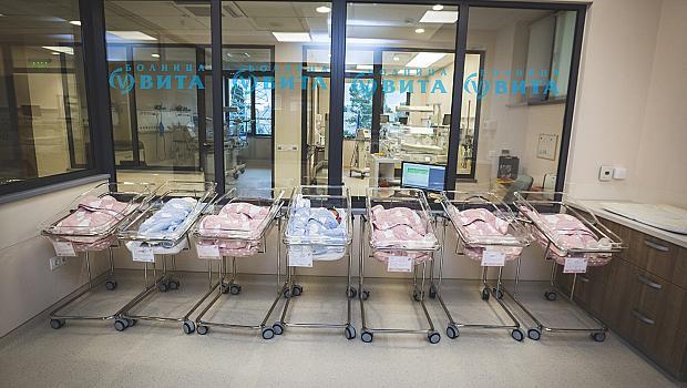Рекорден брой бебета в болница Вита през август