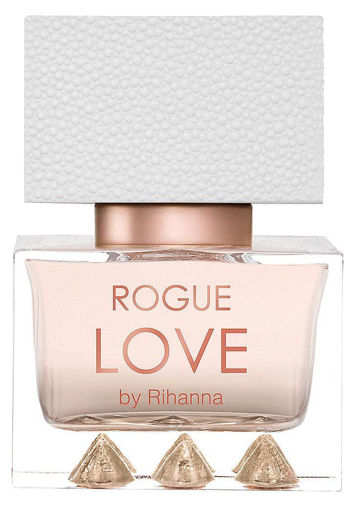 Rogue Love By RIHANNA е цветен гурме аромат с нотки цитрус, жасмин, орхидея, карамел и кокос, който е в пълен синхрон с излъчването на певицата, 30 мл, 49 лв.