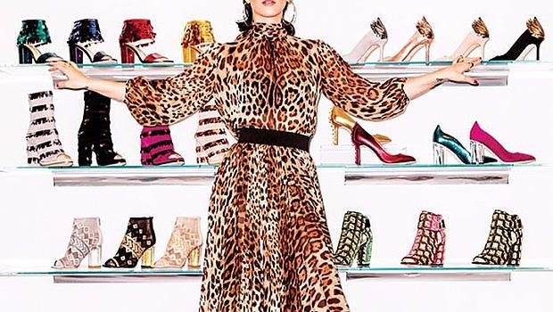 Кейти Пери представя своя линия обувки