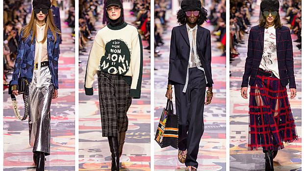 Dior отново заложи на феминизма в новата си колекция за сезон есен-зима 2018/2019