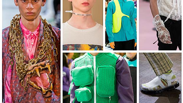 Най-интересните аксесоари по време на мъжката седмица на модата в Париж