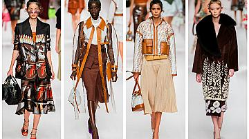 Седмица на модата Милано: Fendi, пролет-лято 2019