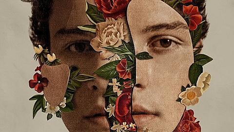 Shawn Mendes е цъфнал и вързал на обложката на новия си албум
