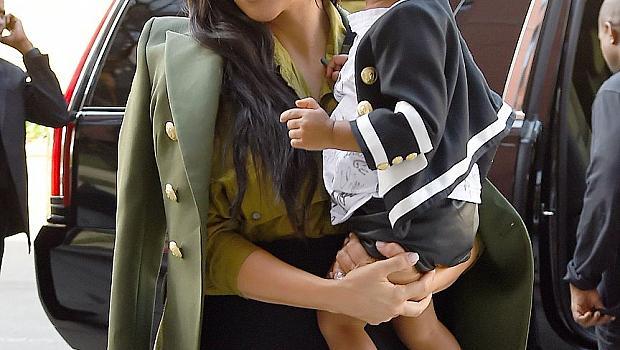 Дъщерята на Ким и Кание вдъхнови детска колекция на Balmain