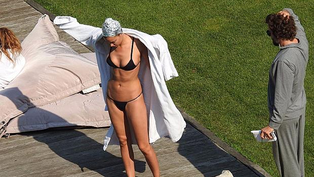 Ирина и Брадли на почивка в Италия