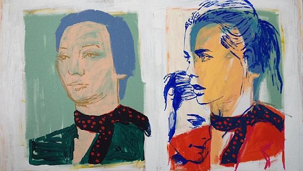 Тържество на цветовете в изложбата на Веселина Саранова