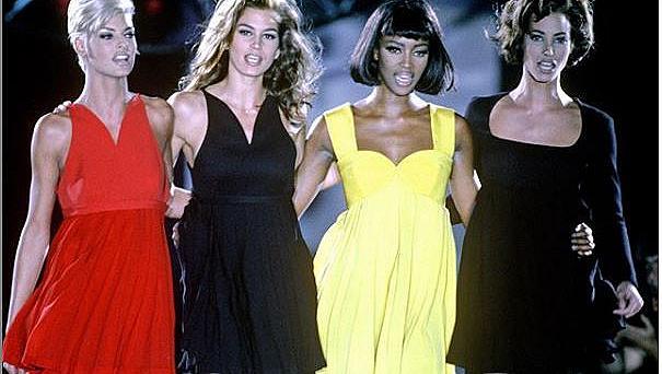 Наоми, Кристи, Синди и Линда ще участват в сериал за супермоделите от 90-те