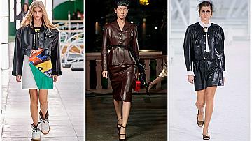 10 модела кожени якета, които ще променят ежедневната ви визия