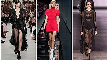 Най-сексапилните рокли от подиума, които бихме облекли на Свети Валентин