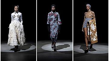 Новата визия на Erdem е превъплъщение между комфортното обличане и балета