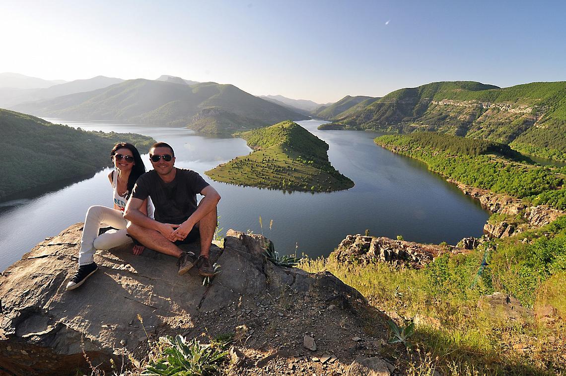 Иван Михалев и Елина Цанкова