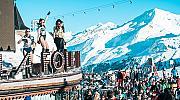 Апре-ски: най-яките купони на пистите с леден душ от шампанско