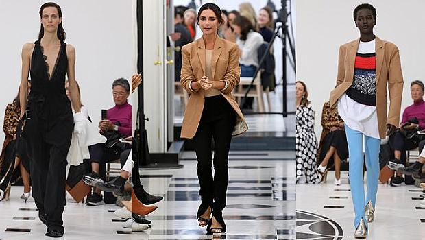 Виктория Бекъм празнува 10-годишнината на бранда си на модния подиум в Лондон