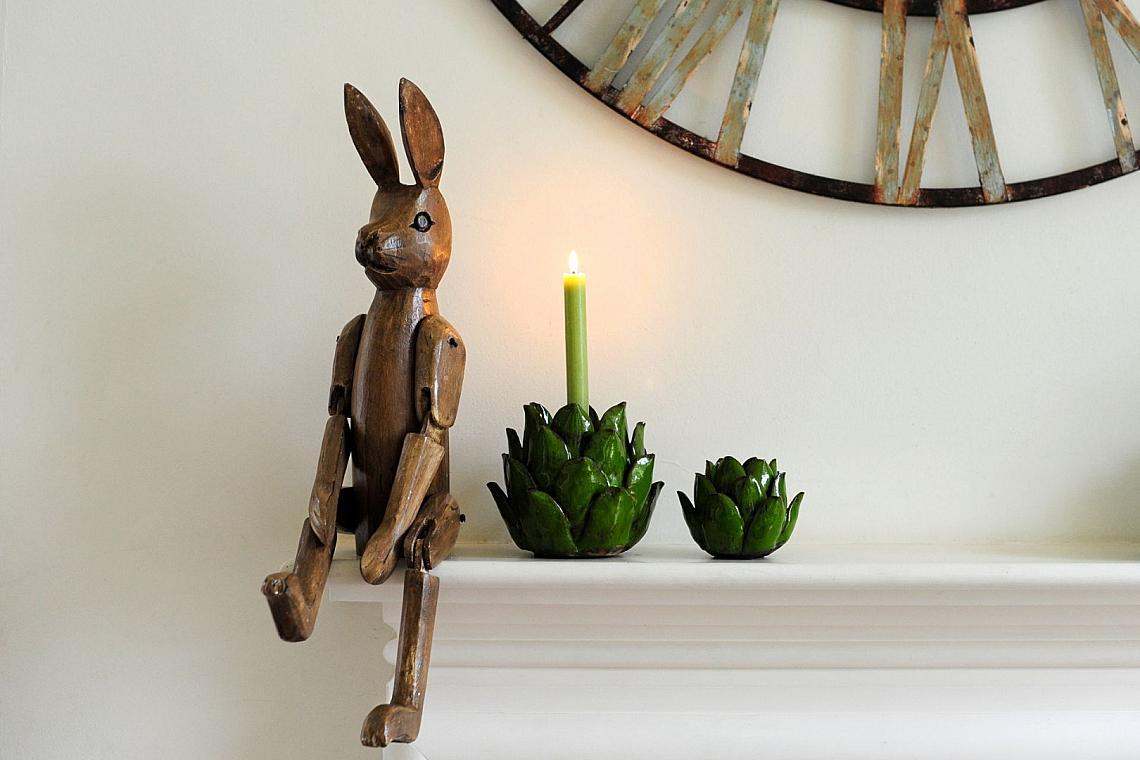 Дървен заек от VelvetDashInteriors