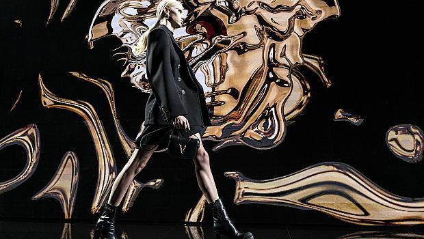 Кой е най-елегантният цвят според новата колекция на Versace?