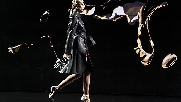 Кожените модни находки, които се откроиха на подиума
