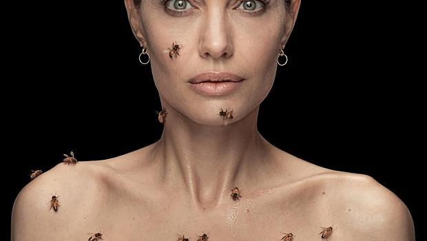 Анджелина Джоли и нейната снимка с пчели разбиха мрежата