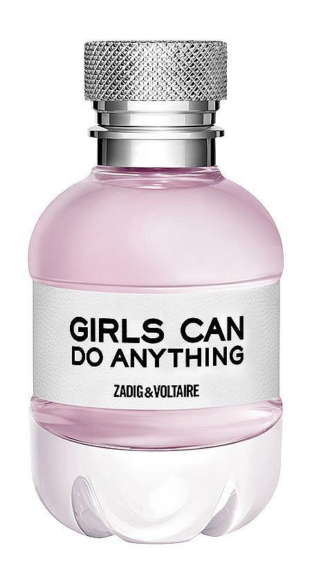 Когато еманципацията се претвори в парфюм, се ражда Girls Can Do Anything на ZADIG&VOLTAIRE! Ако гледате нотките, той е типично мъжки  аромат, но в същото време има изключително женствена и запомняща се  мускусно, дървесна и фужерна композиция.