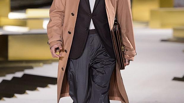 Класическа мода за мъже от модния подиум в Милано